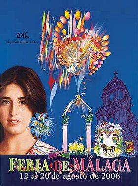 Cartel de la feria de Málaga 2006