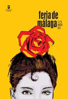Cartel Feria Málaga 2013