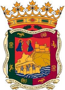 Escudo de la ciudad de Málaga