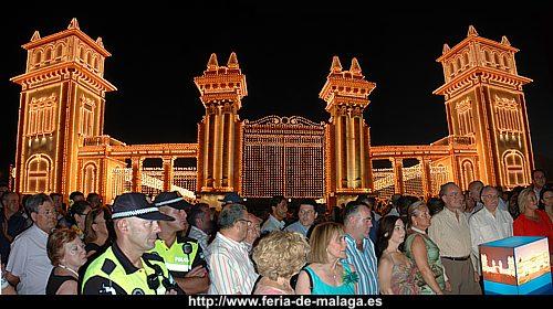 Encendido de las Luces en el Real de la Feria de Málaga 2007