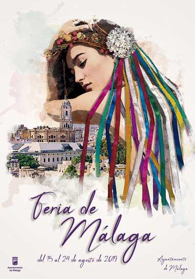 Cartel Feria de Málaga 2019